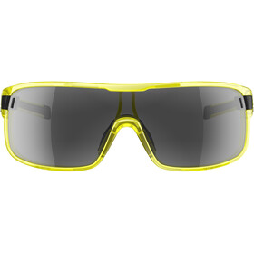 adidas Zonyk Brille L yellow transparent/grey